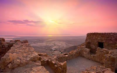 Views from Massada Fortress