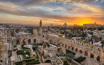 Overview of Jerusalem