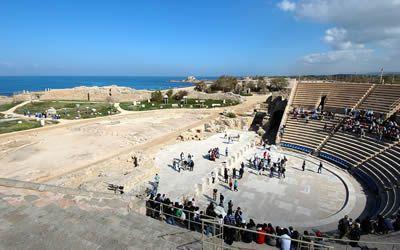 Roman Amphitheatre in Caesarea