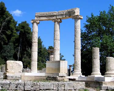 Olympia Ancient Archaeology Site