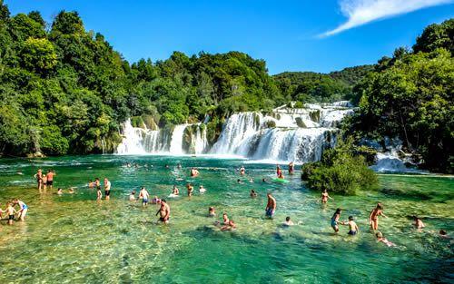 Optional Excursion to Krka National Park and Šibenik