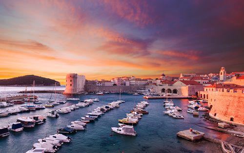 Disembark in Dubrovnik