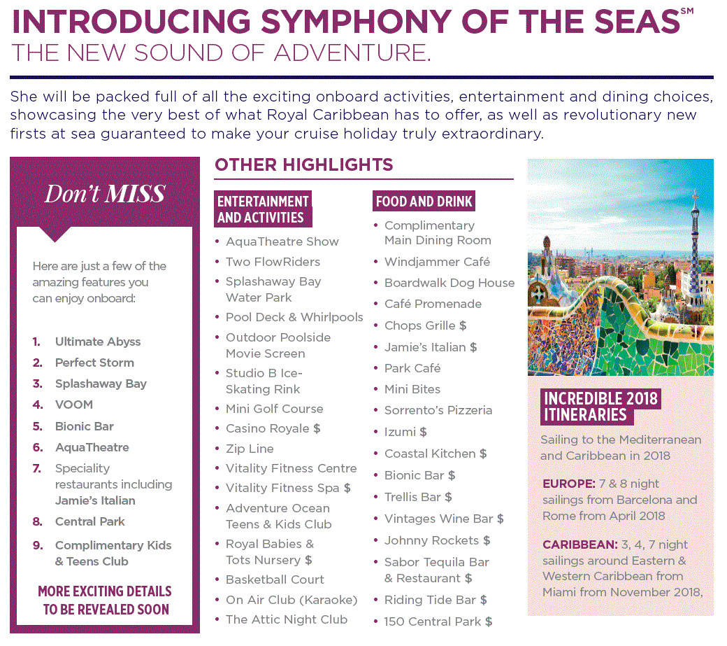 Royal caribbeans symphony of the seas royal caribbean cruises book now your journey into extraordinary starts here falaconquin