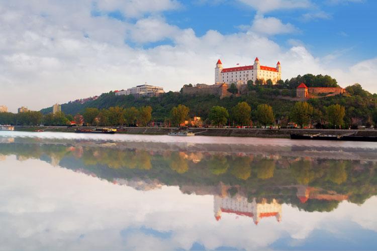 Cruceros por Bratislava, Eslovaquia