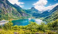 Cruceros por Geiranger en Noruega