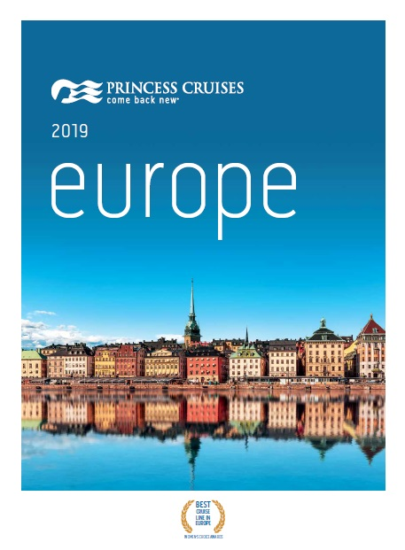 Princess Cruises: Europe 2019