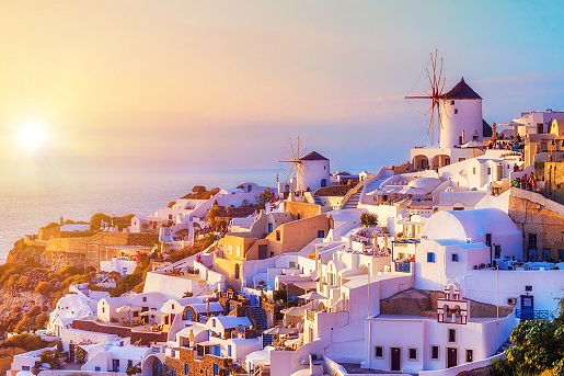 Mediterranean Greek Isles from Barcelona
