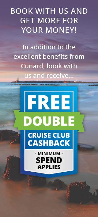 Cunard double cashback 2020